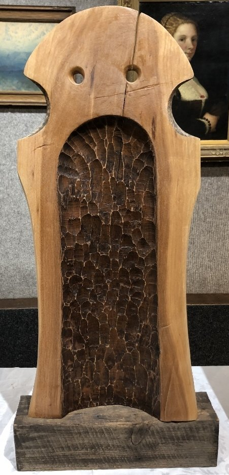 Wood sculpture by Ron Street