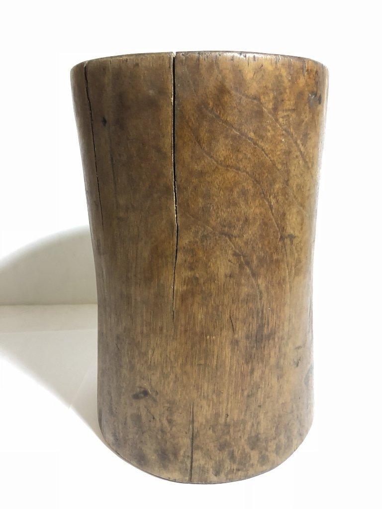 Tribal wood holder