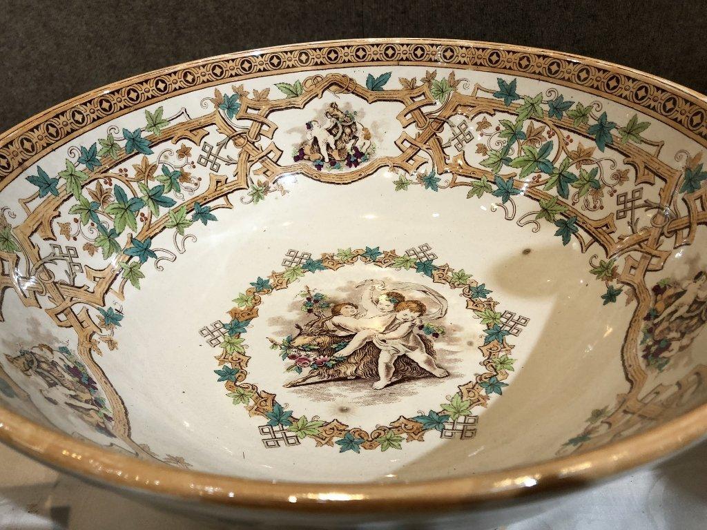 Large punch bowl, c. 1880 - 3