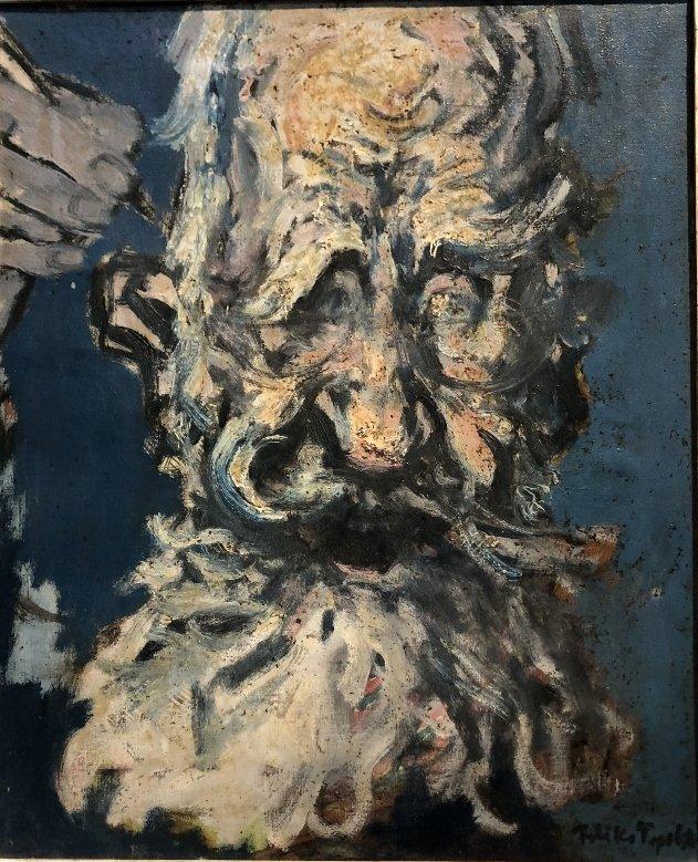 Painting of George Bernard Shaw by Feliks Topolski RA - 2