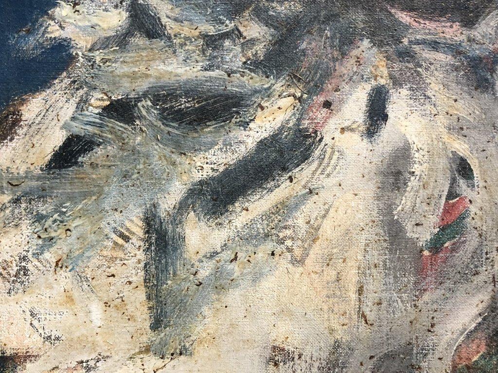 Painting of George Bernard Shaw by Feliks Topolski RA - 4