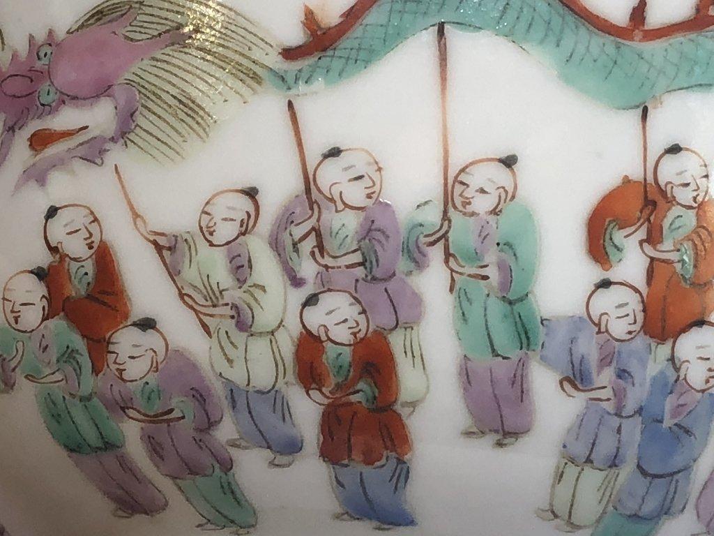 Chinese porcelain bowl-18th cen marks - 7