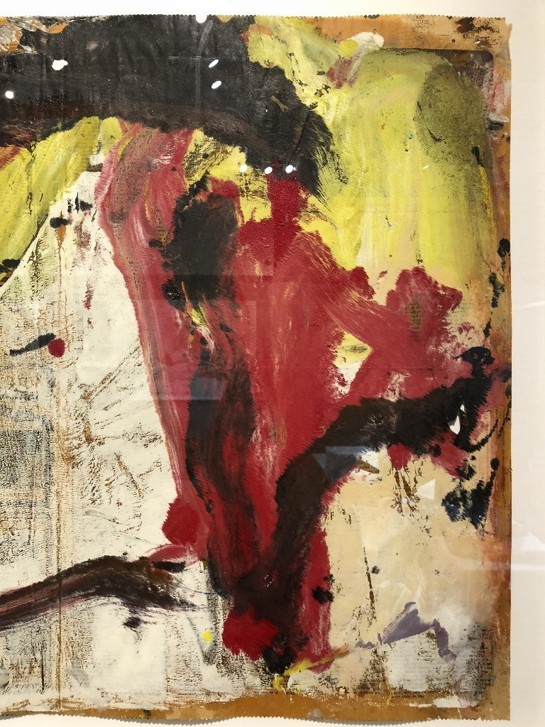 """Untitled I"" painting by Willem de Kooning 29 x 22.5 - 3"
