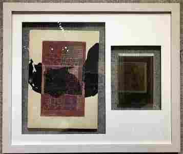 """""""Vorhang"""" (Curtain no.1) painting by Paul Klee, 1924"""
