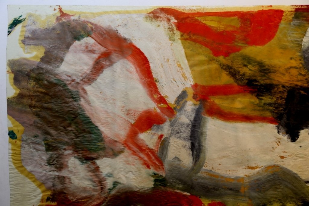 """Untitled II"", painting by Willem de Kooning,65 x 43 - 3"