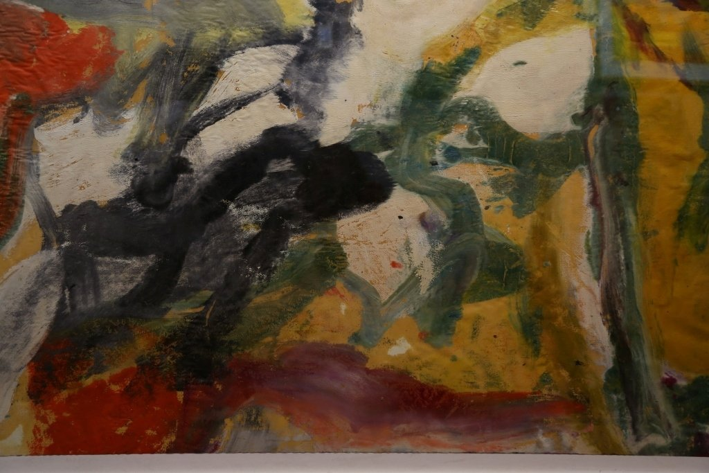 """Untitled II"", painting by Willem de Kooning,65 x 43 - 5"