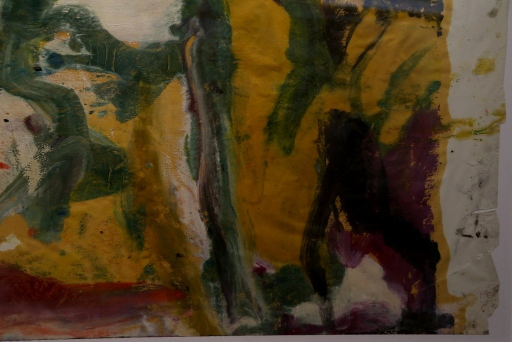 """Untitled II"", painting by Willem de Kooning,65 x 43 - 6"