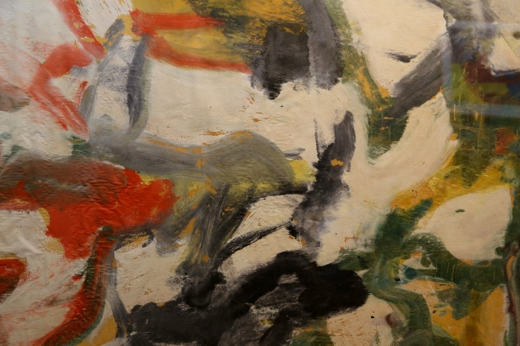 """Untitled II"", painting by Willem de Kooning,65 x 43 - 7"