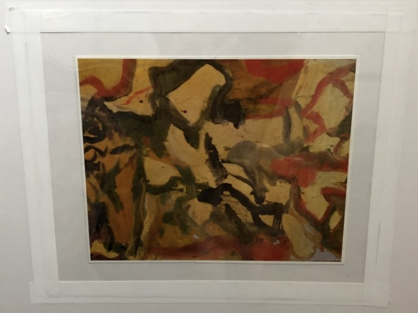 """Untitled II"", painting by Willem de Kooning,65 x 43 - 9"