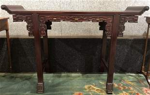 Chinese wood altar table, circa 1950