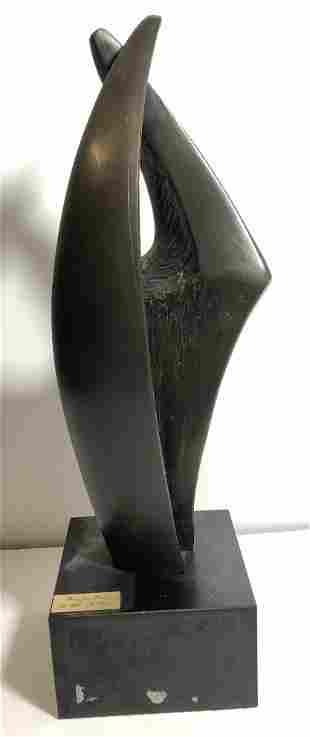 "Bronze by Gila Stein,""Pray for Peace"""
