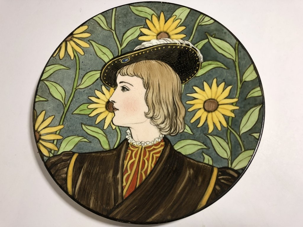 Decorative plates including clown plate - 2