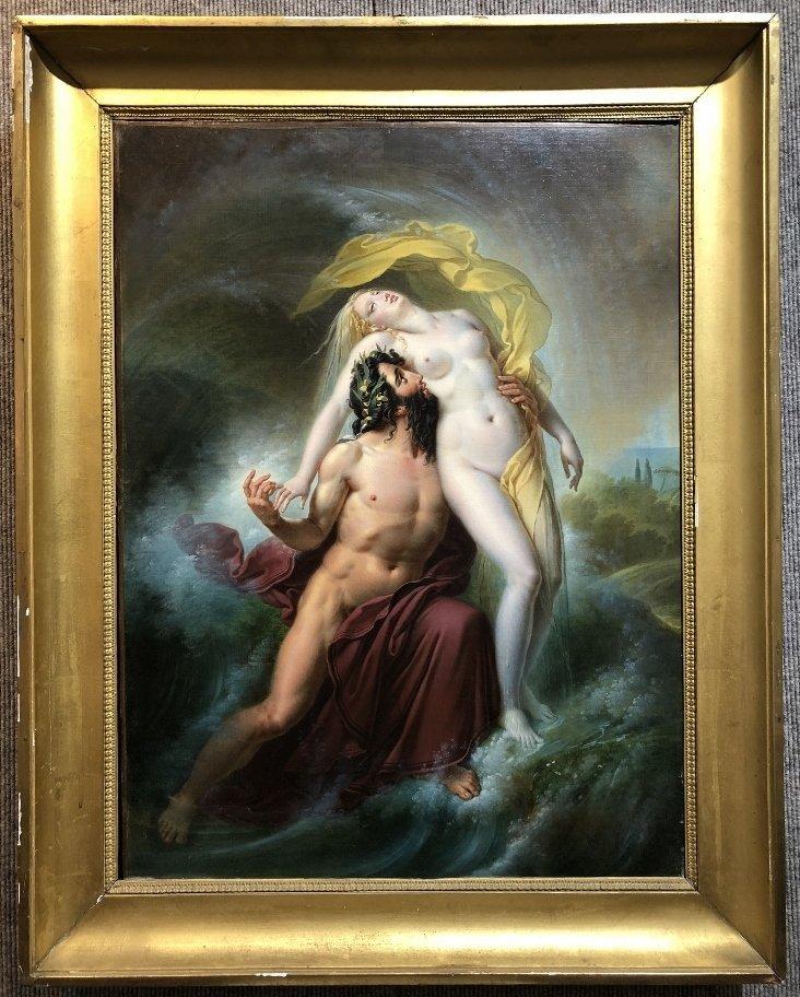 Painting by Joseph F Lancrenon, Poseidon,c.1830