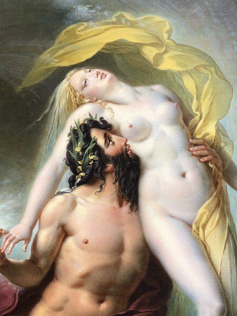 Painting by Joseph F Lancrenon, Poseidon,c.1830 - 3