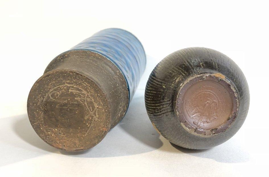 Five modern ceramic items - 4
