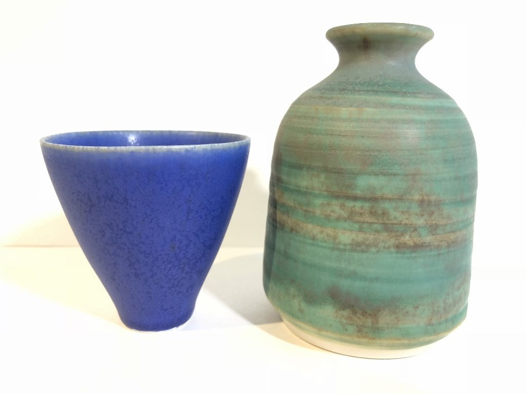 Five modern ceramic items - 8