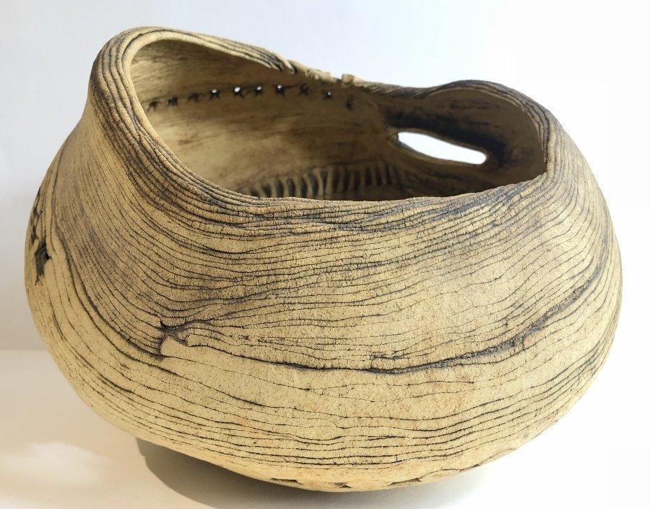 Modern ceramic bowl by Susan Eisen - 3