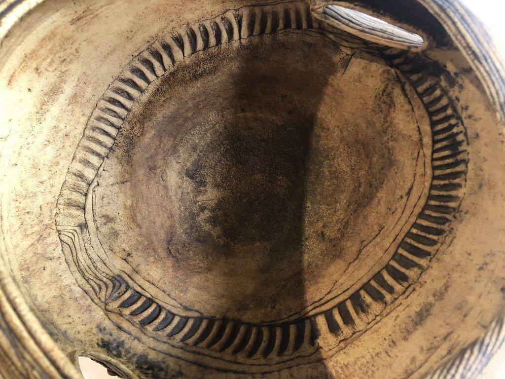 Modern ceramic bowl by Susan Eisen - 4