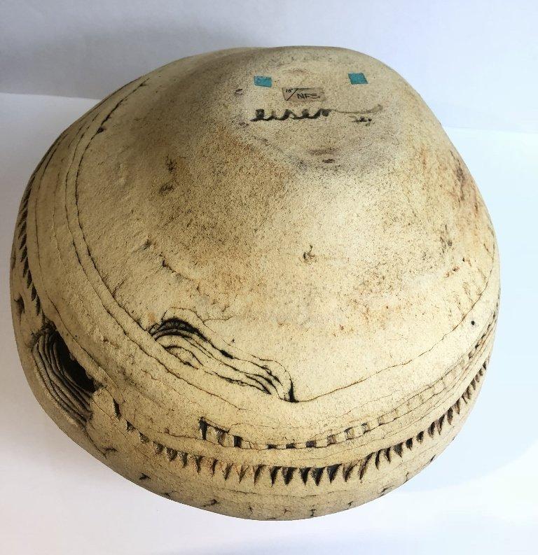Modern ceramic bowl by Susan Eisen - 8