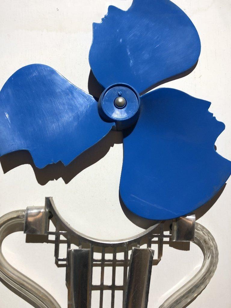 Car Caper, by Pablo Daniel Cano-mixed media sculpture - 3