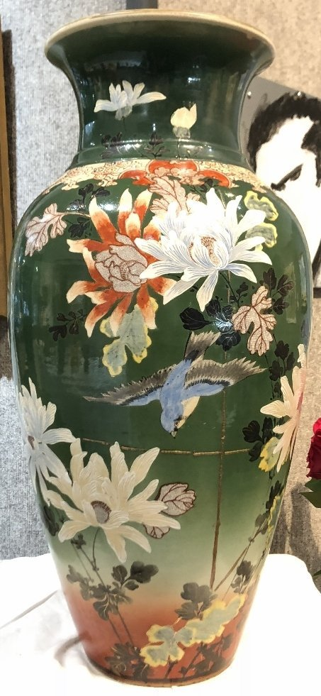Large Satsuma vase, c.1900