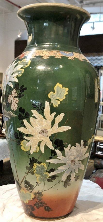 Large Satsuma vase, c.1900 - 2