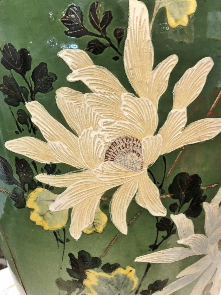 Large Satsuma vase, c.1900 - 3