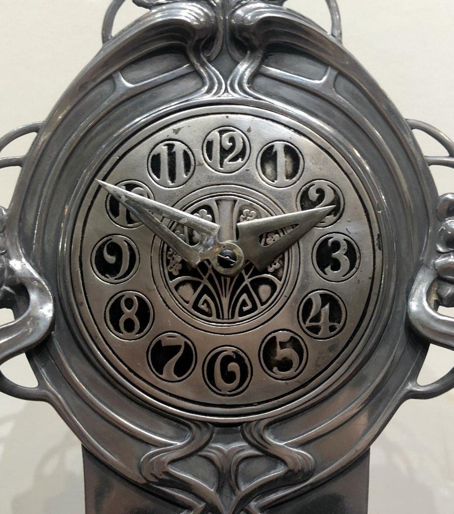 WMF clock, c.1905 - 3