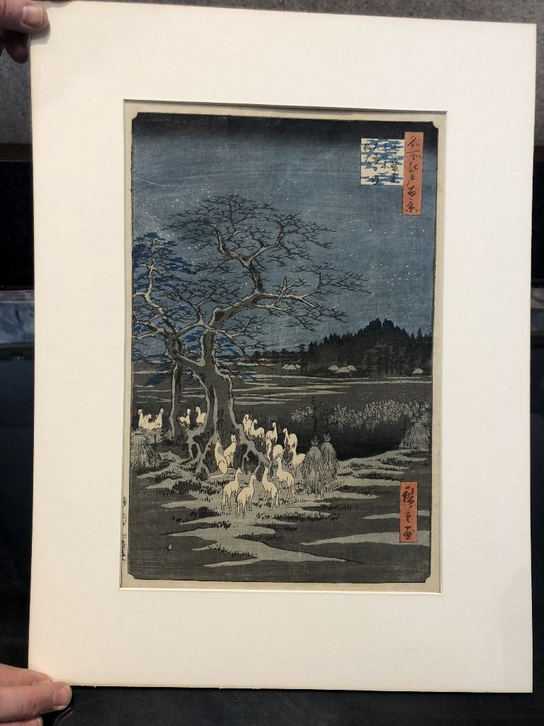 Hiroshige's Foxfire New Years Eve, circa 1880