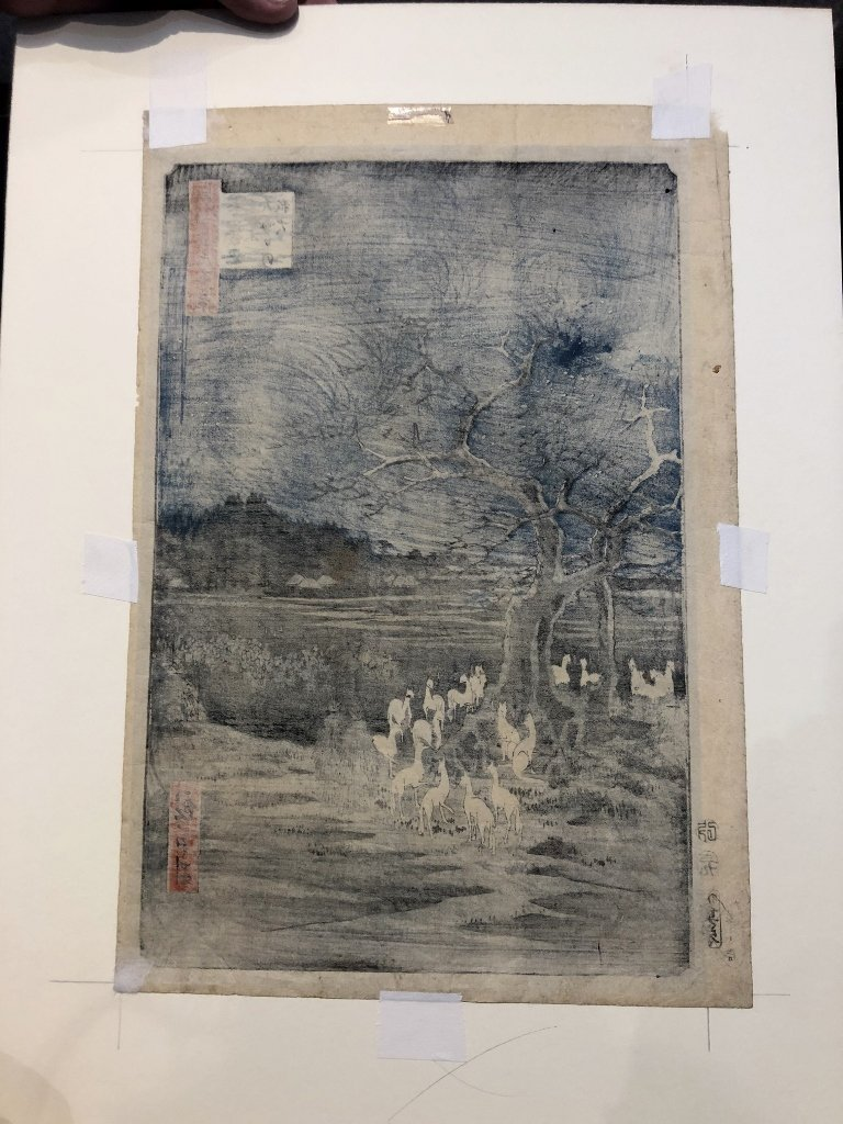 Hiroshige's Foxfire New Years Eve, circa 1880 - 3