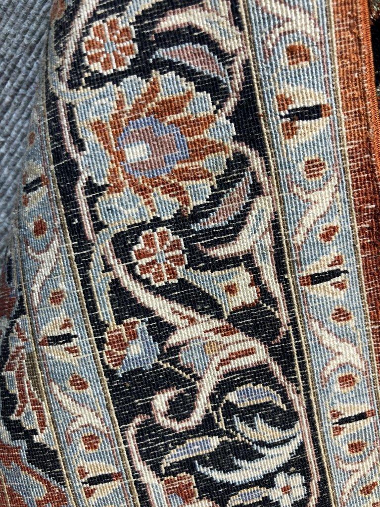 Small handmade silk carpet, c.1940 - 5
