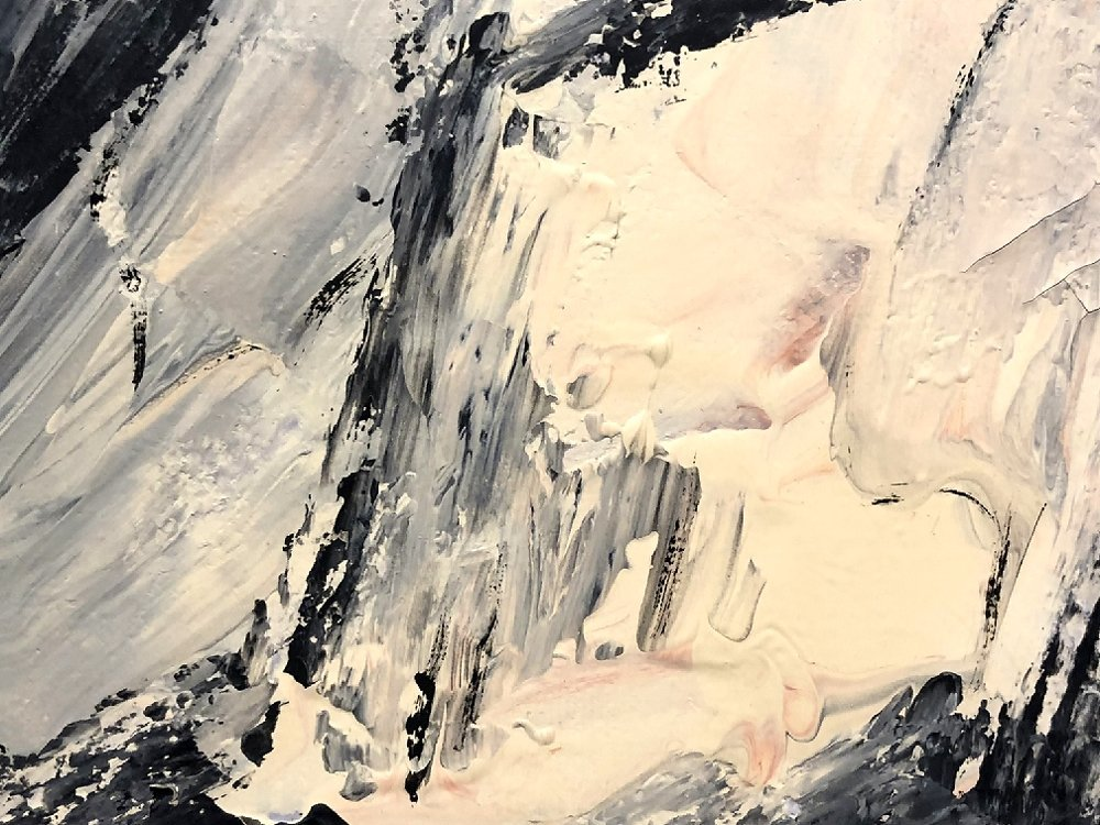 Abstract painting by Ernest Briggs, Mexico, No.2 - 4