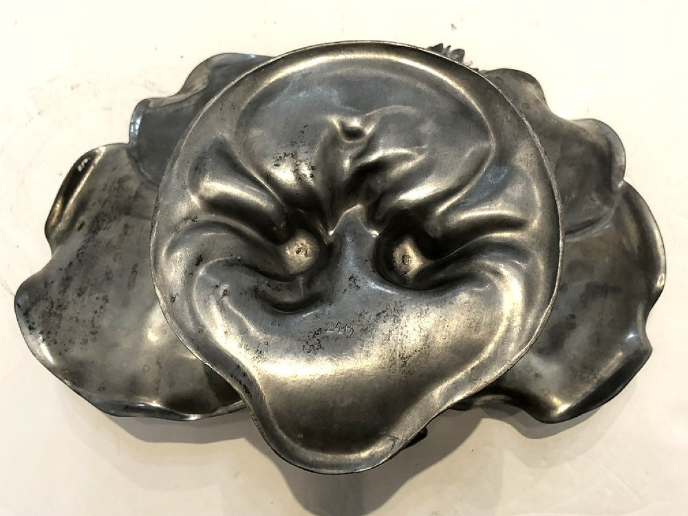 WMF lily pad card tray, c.1905 - 5