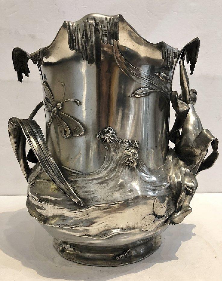 WMF champagne bucket, c.1900 - 3