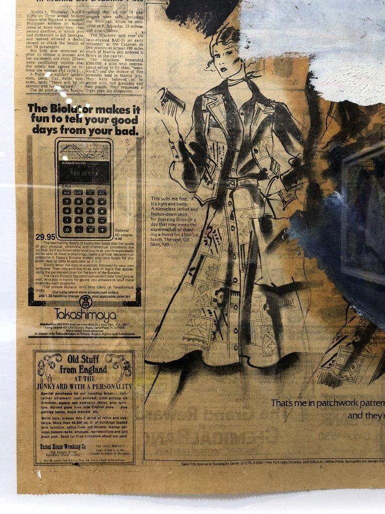 """Untitled III"",Willem de Kooning ptg, 29"" x 23"" - 10"