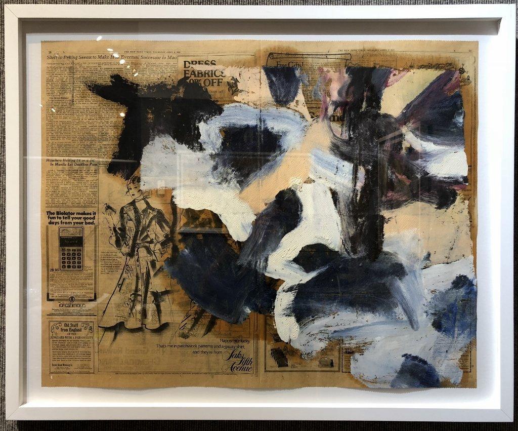 """Untitled III"",Willem de Kooning ptg, 29"" x 23"""