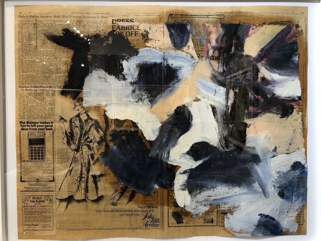 """Untitled III"",Willem de Kooning ptg, 29"" x 23"" - 3"