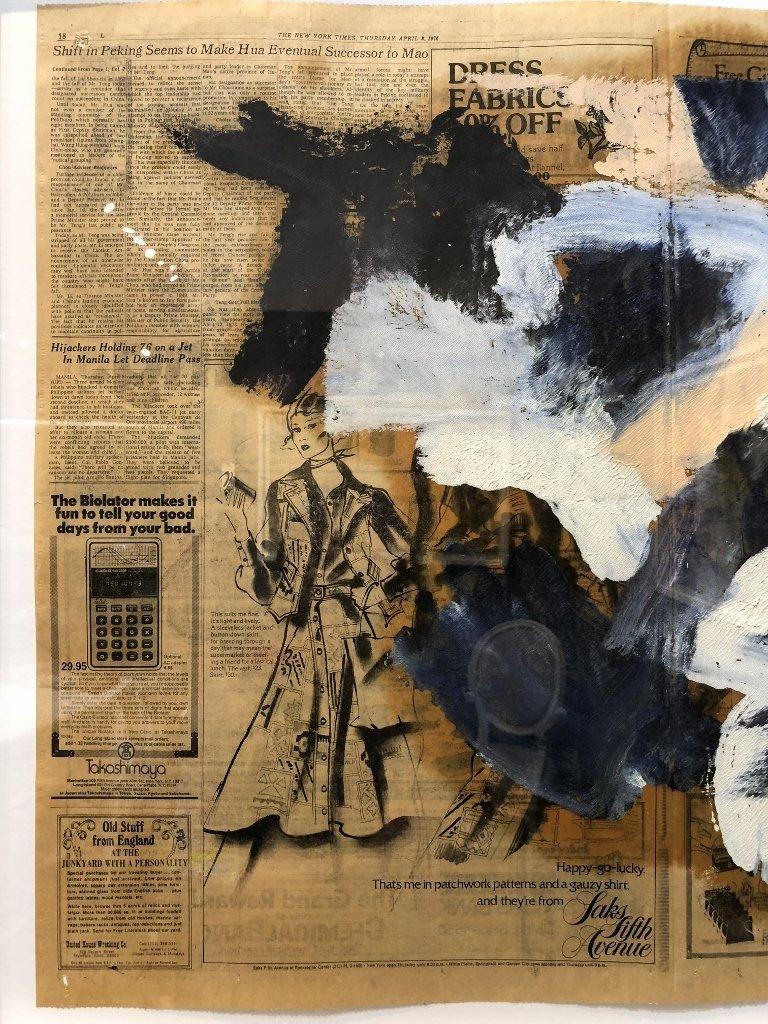 """Untitled III"",Willem de Kooning ptg, 29"" x 23"" - 5"
