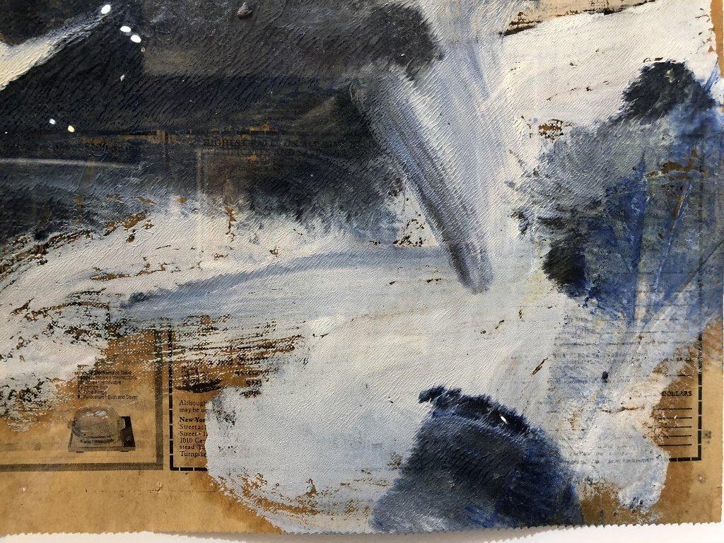 """Untitled III"",Willem de Kooning ptg, 29"" x 23"" - 7"