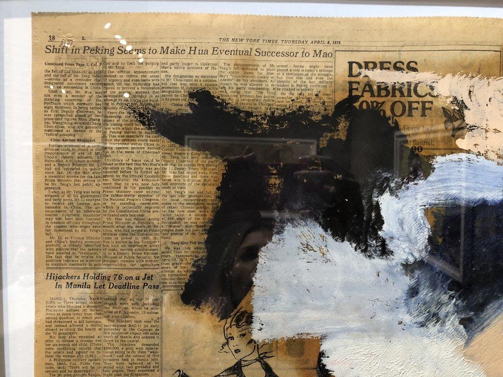 """Untitled III"",Willem de Kooning ptg, 29"" x 23"" - 9"