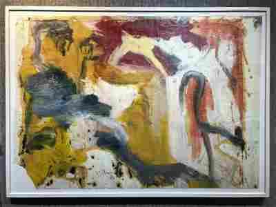 """Untitled IV"", Willem de Kooning, painting 63"" x 45""."