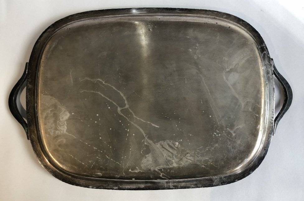 Two handled American sterling tray,c.1965,70.4t.oz - 4