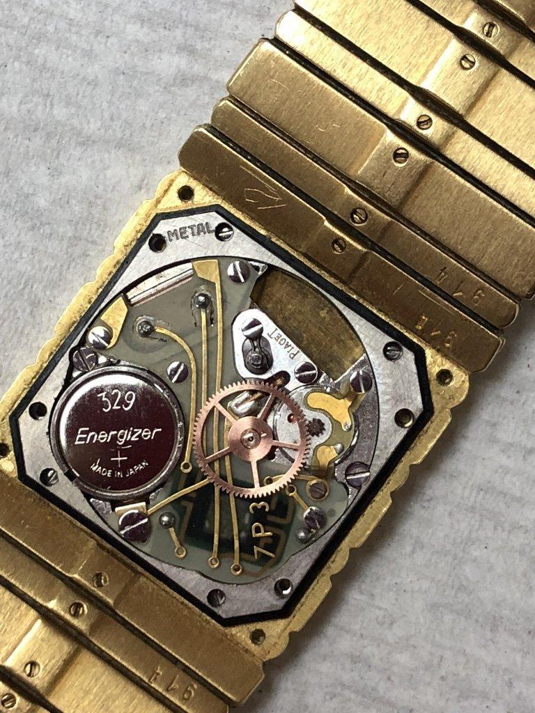 18k Piaget mans watch, 95 dwts - 3