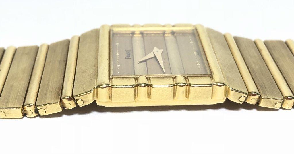 18k Piaget mans watch, 95 dwts - 5