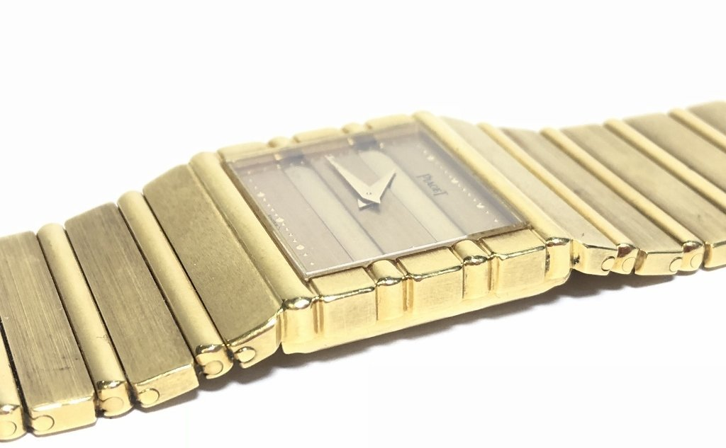 18k Piaget mans watch, 95 dwts - 6