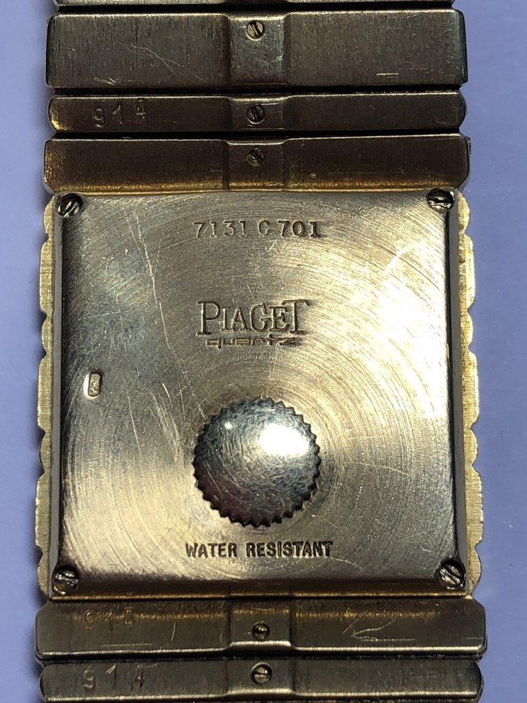 18k Piaget mans watch, 95 dwts - 7