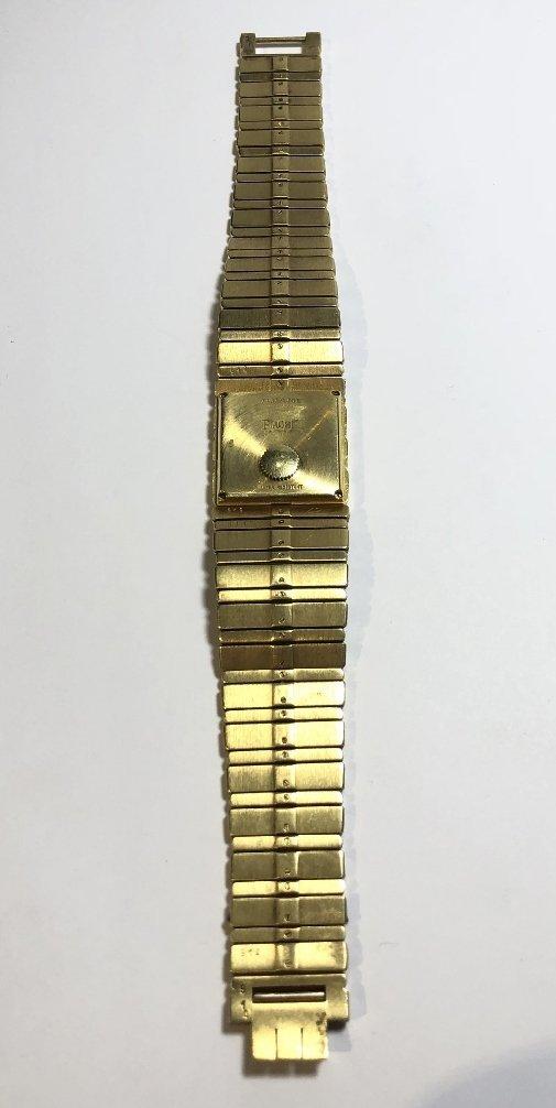 18k Piaget mans watch, 95 dwts - 9
