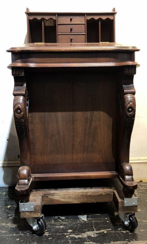 Mahogany Davenport desk, c.1930