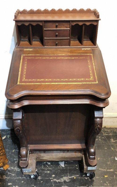 Mahogany Davenport desk, c.1930 - 2