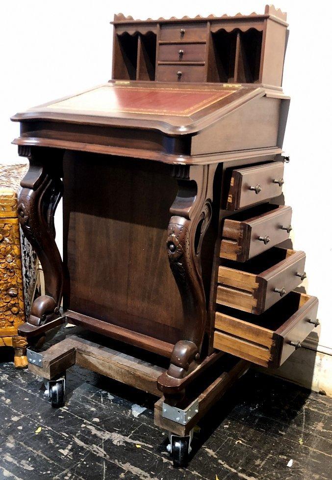 Mahogany Davenport desk, c.1930 - 6